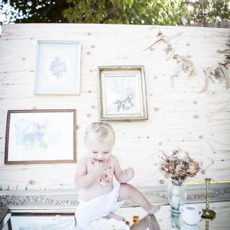 Cake Smash | Napa Valley Family Photographer | Nicholas Dunne Photography